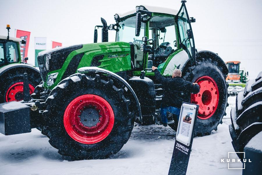 Valtra & Fendt Open day в Одесі