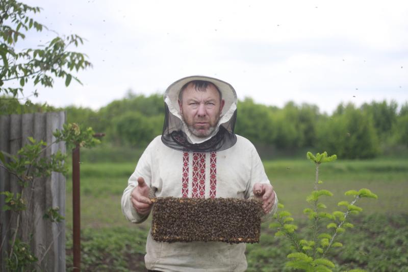 Юрій Овдієнко, пасічник, член «Спілки пасічників України»