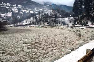 Під загрозою затоплення і вимороження виявились посіви на Закарпатті