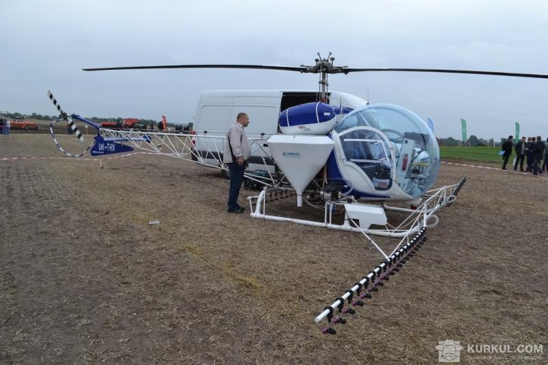 Вертоліт Bell-47 на «БитвіАгротитанів 2017»