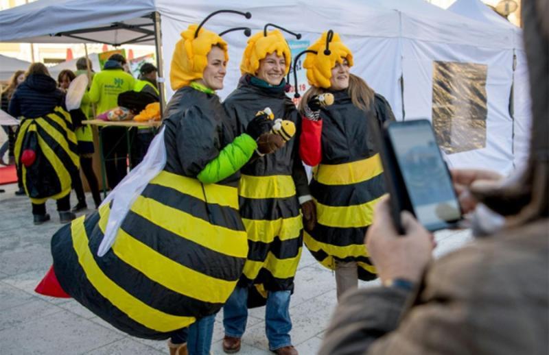 Німеччина, під час акції по запуску петиції «Врятуйте бджіл»