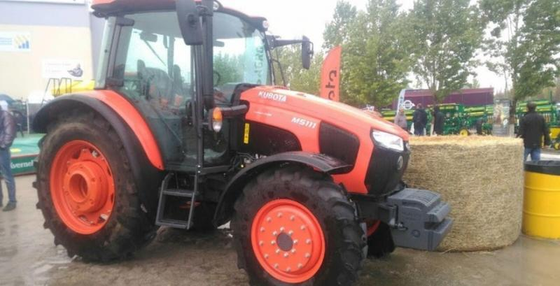 De nouveaux tracteurs Kubota ont été présentés à AGROEXPO-2020