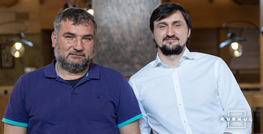 Юрій Дробязко та Олександр Камишин