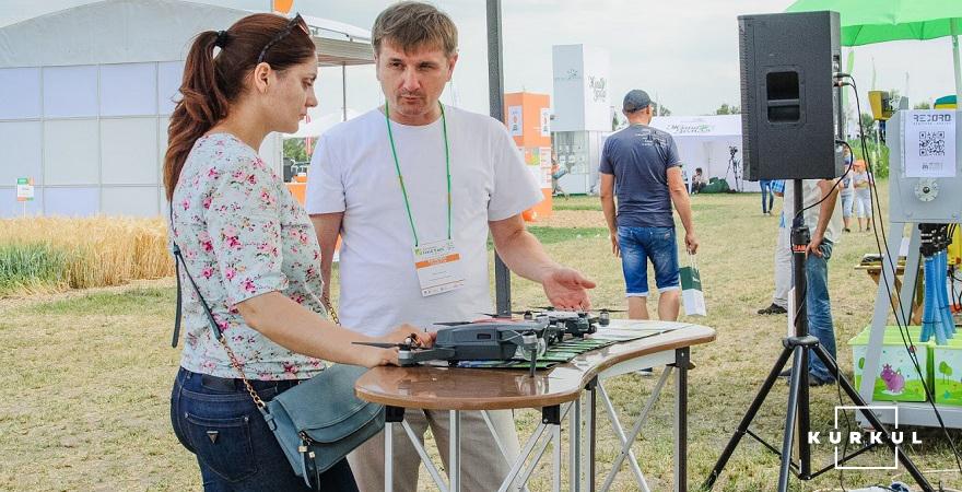 Олег Лукашик на Дні поля DLG