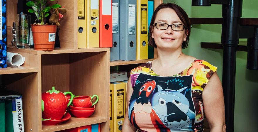 Ірина Кухтіна, президентка Асоціації «Ягідництво України»