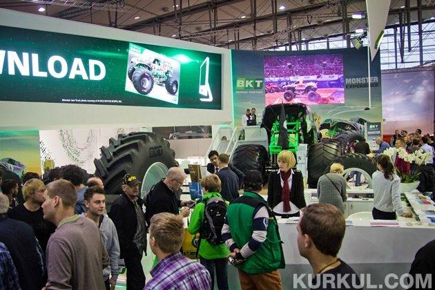 Стенд компанії був одним з найвідвідуваніших на виставці
