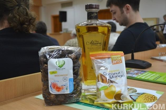 Зарубіжна органічна продукція, представлена на конференції в Сумах