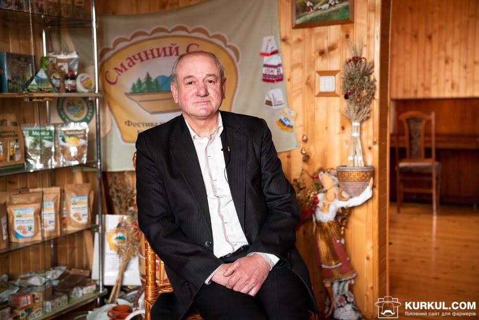 Михайло Стовпюк, засновник кооперативу «Чиста флора»