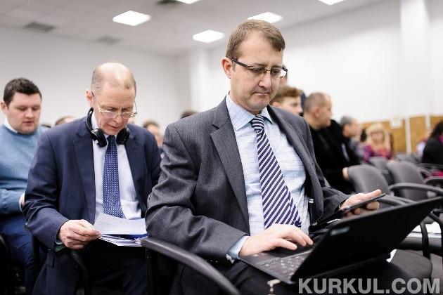 Клайф Блекер під час Британо-українського агробізнес форуму