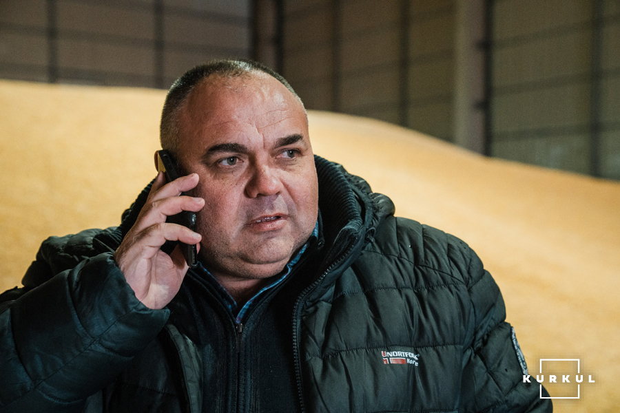 Олександр Голомах, керівник селянського фермерського господарства «Вікторія»
