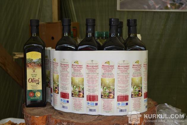 Олія з новими українськими етикетками