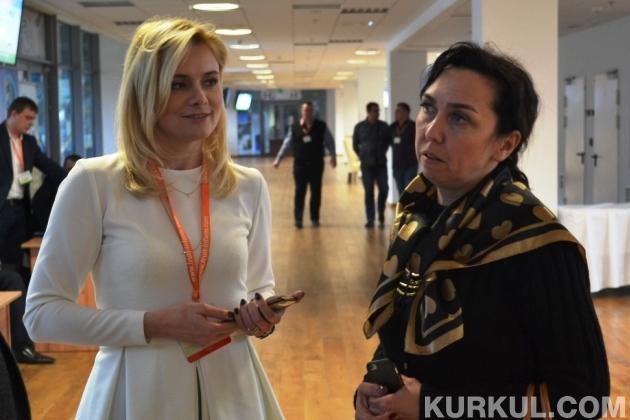 Наталія Хмиз на конференції Мільйон із гектара