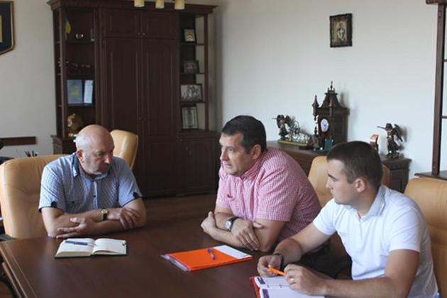 Зустріч представників KWS та міської ради Кам'янця-Подільського