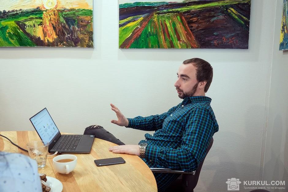 Дмитро Максименко, співзасновник та виконавчий директор компанії «Метео Фарм»