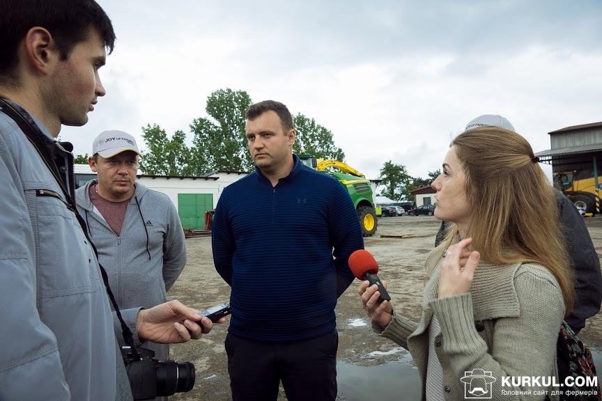Ондрей Собота, головний технолог землеробного відділу агрофірми «Словеч»