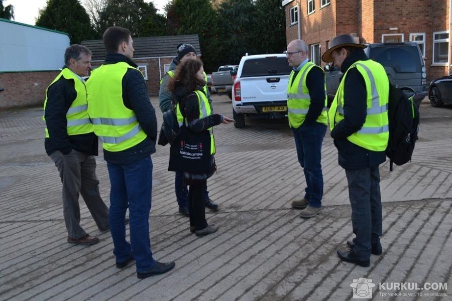Пол Ленгфорд зустрічає журналістів з України