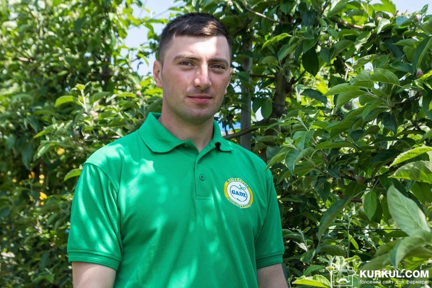 Павло Бабій, агроном-садівник ФГ «Гадз»