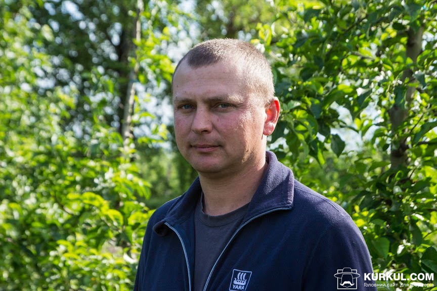 Олександр Баран, агроном Чемеровецького відділку ГК VITAGRO