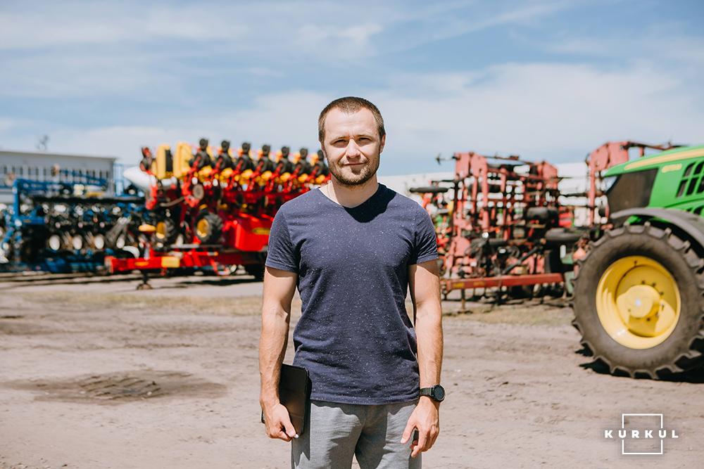 Богдан Савенков, головний агроном агрофірми «Вітчизна»