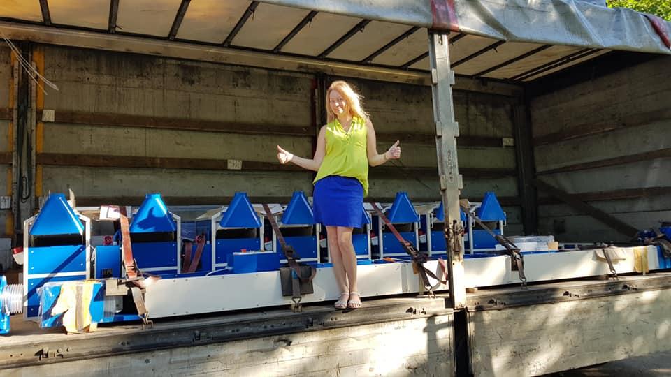Ірина Чорнобай, співвласниця та комерційний директор компанії «Аеромех»