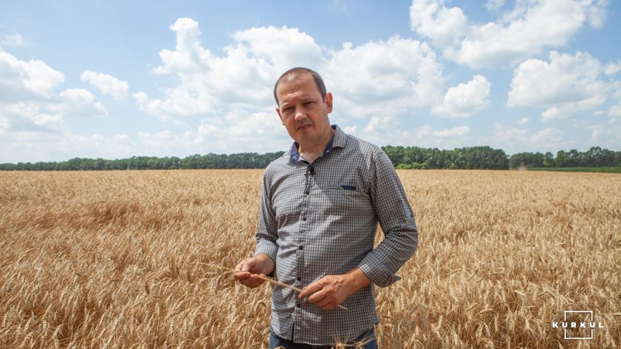 Віталій Кравченко, кандидат с/г наук та головний агрономом господарства ДГ «Драбівське»