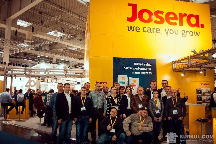 Команда Josera та клієнти з України