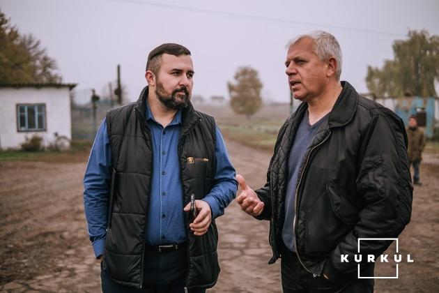 Микола Сирота і Олександр Коваленко (зліва направо)