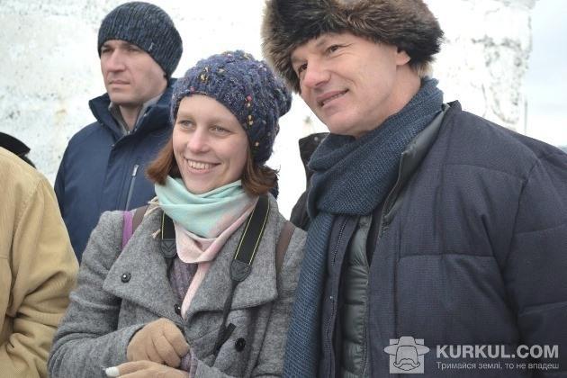 Моріс Мейер та координатор біодинамічних міжнародних проектів Марина Богданок