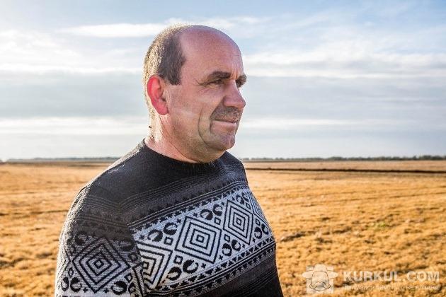 Анатолій Мороз в полі