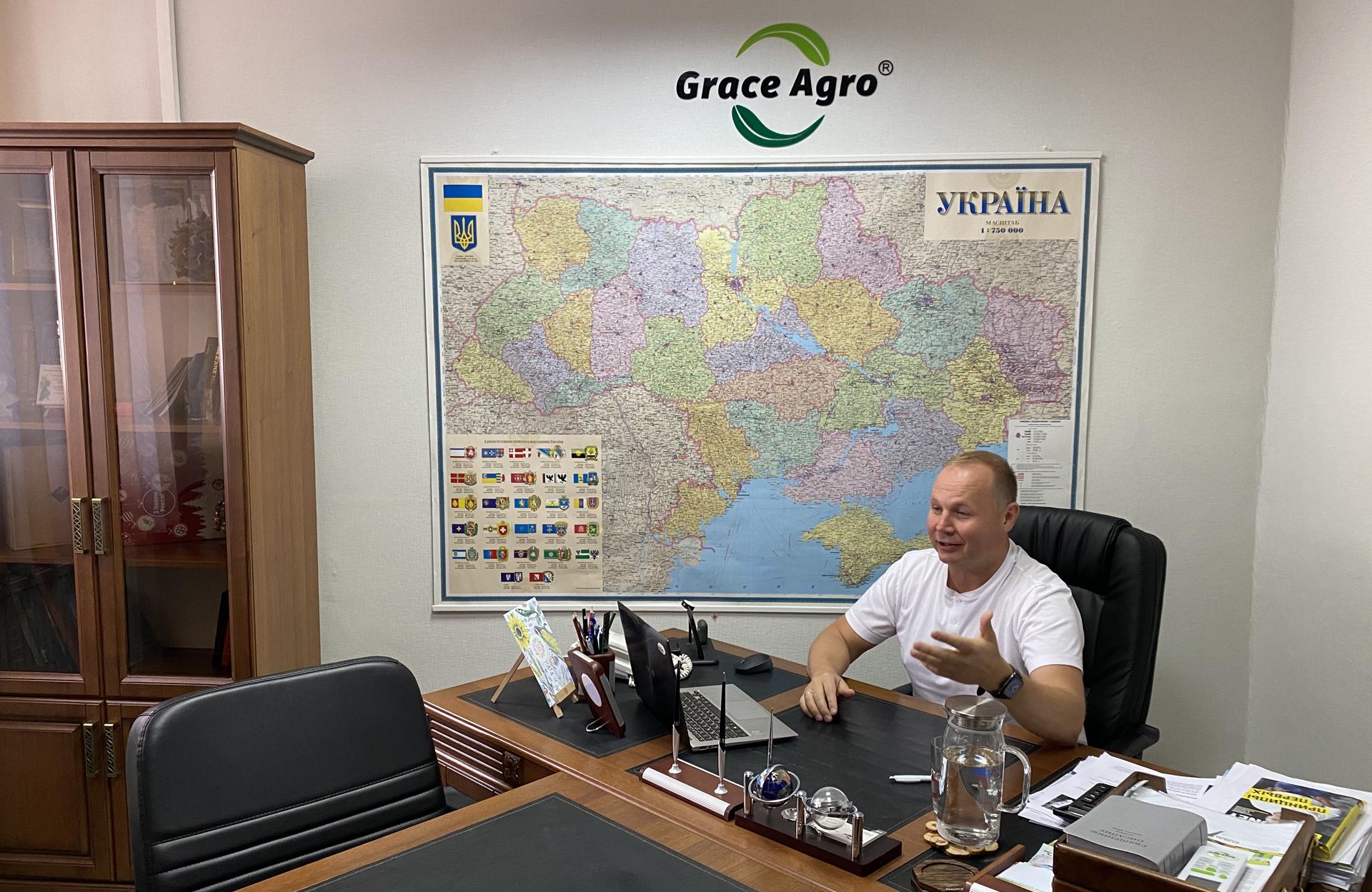 Дмитро Оцабрик, засновник дистриб'юторської компанії «Грейс Агро»