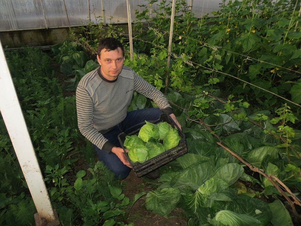 Андрій Марченко, засновник фермерського органічного господарства «Світовоч»