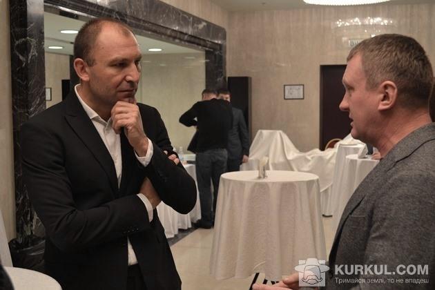 Андрій Ярмак разом з гостем конференції