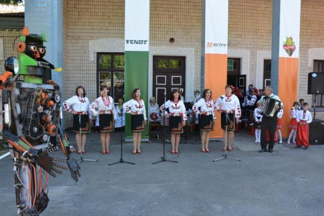 Астра провела День поля на Київщині
