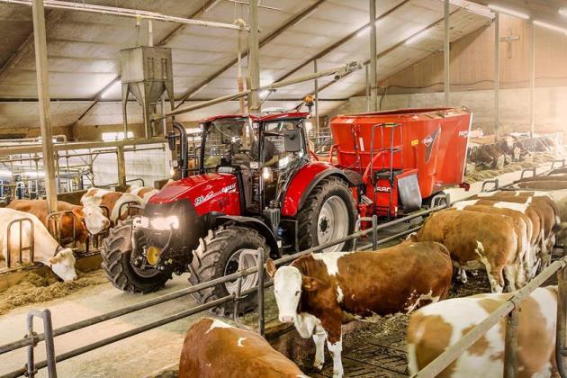 Презентовано нову модель трактора Case IH Luxxum