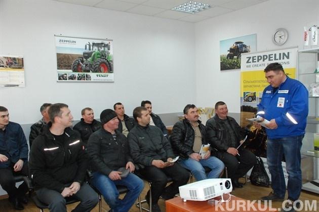 Дводенні навчання на базі Полтавського дилерського центру компанії «Цепелін Україна»