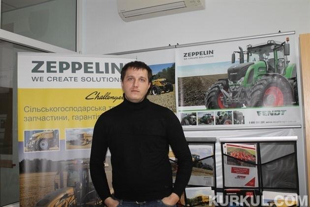Андрій Заставнюк, регіональний представник компанії «Цепелін Україна» в Полтавському, Сумському і Харківському регіонах