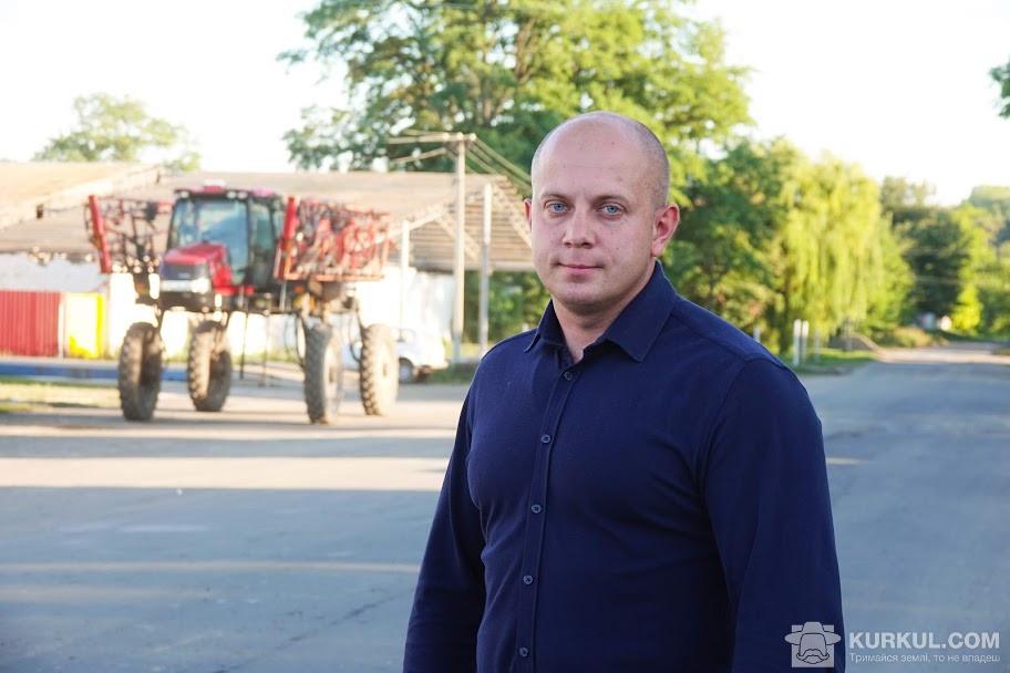 Павло Голуб, комерційний директор підприємства «Черкаси-Дніпро АГРО»