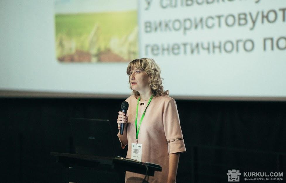 Юлія Коломієць, доцент кафедри екобіотехнологій та біорізноманіття НУБіП України
