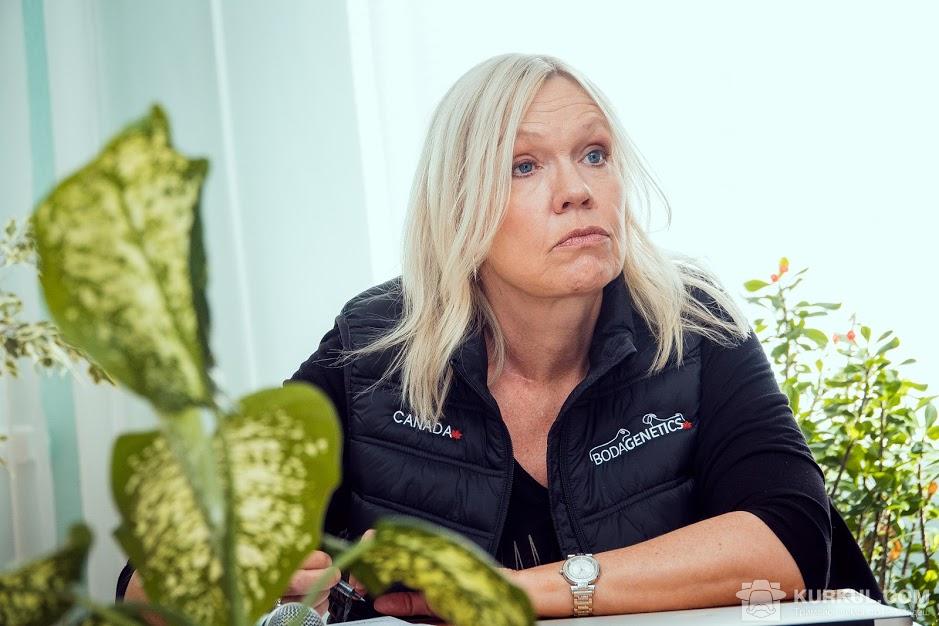 Інна Еріксон, директор канадського центру генетики та селекції