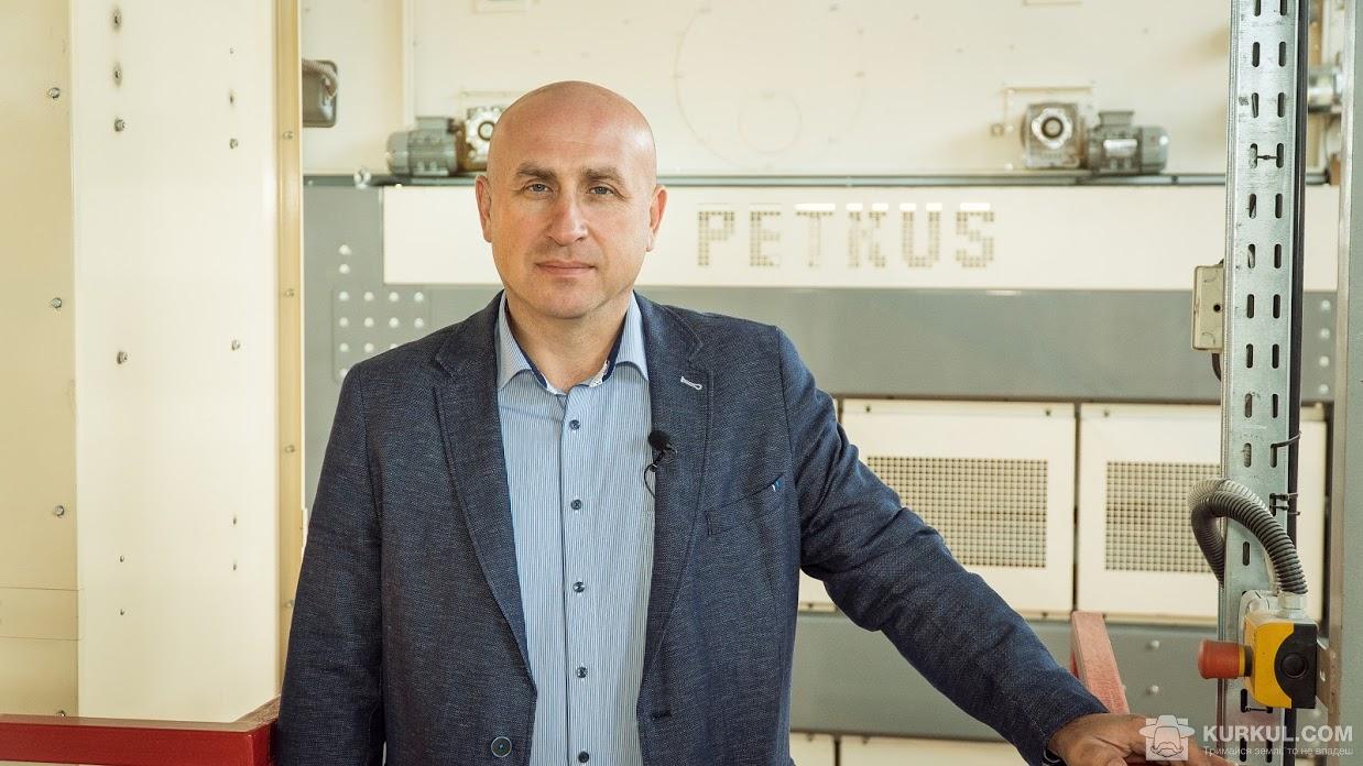Анатолій Ткаченко, директор Лебединського насіннєвого заводу