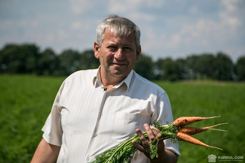 Володимир Пономаренко у ході проекту «Хвала рукам, що пахнуть хлібом»
