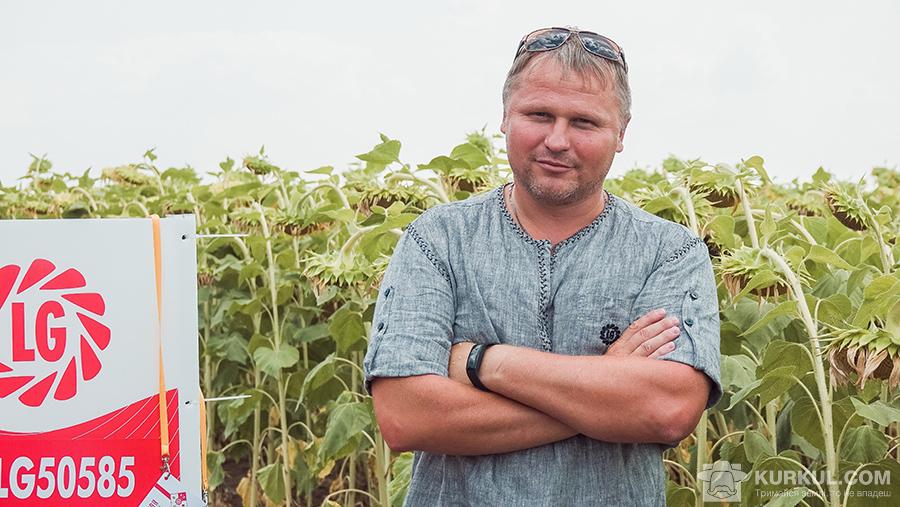 Геннадій Потоцький, спеціаліст з розвитку соняшника у Східній Європі компанії «Лімагрейн».