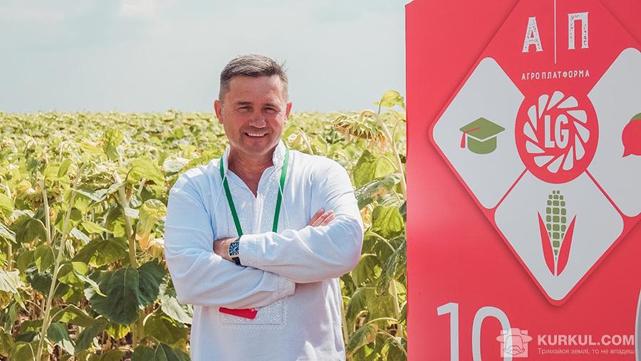 Олександр Яковенко, власник господарства «Жнива»