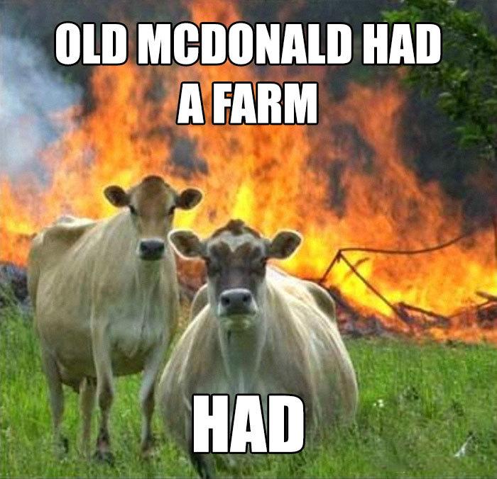 У старого МакДональда була ферма. Була