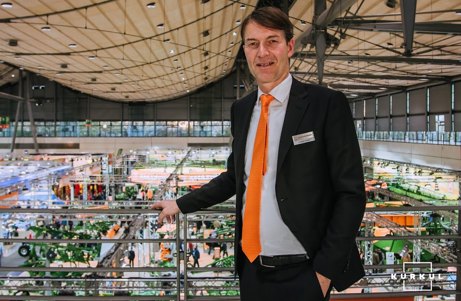 Крістіан Драйер, президент компанії Amazone