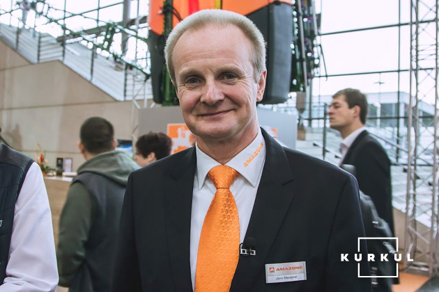 Йенс Майснер, менеджер з експорту компанії Amazone
