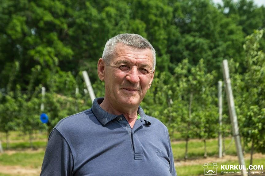 Петро Соколовий, голова ФГ «Плебанівський сад»
