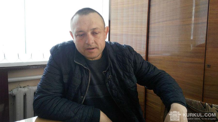 Андрій Маланчук, комірник СГК «Бабинський»