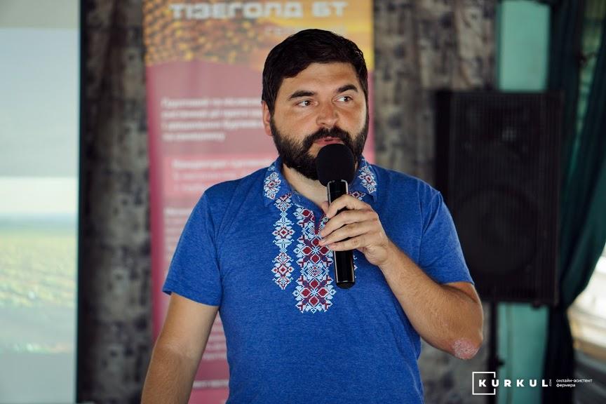 Віктор Боровик, співзасновник та операційний директор «Агро Онлайн»