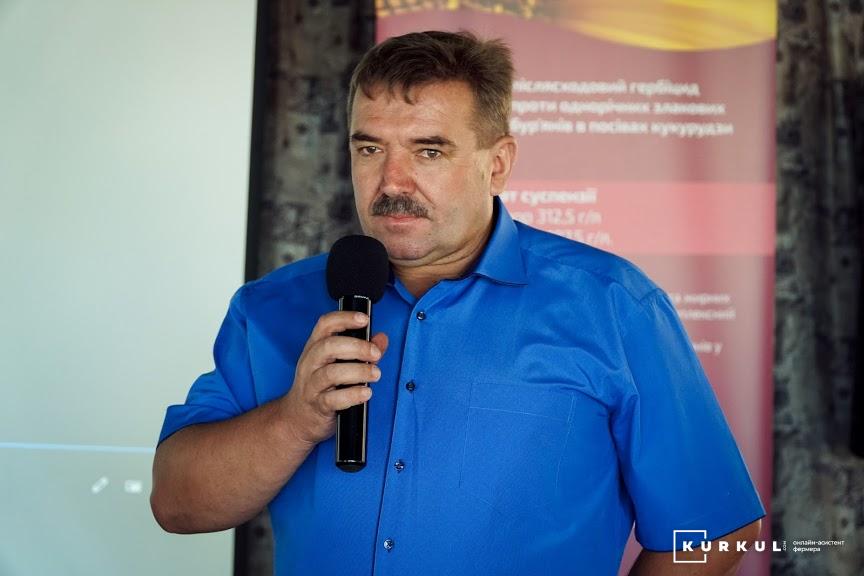 Анатолій Козак, агроном підприємства ТОВ «Агро-Юг В»